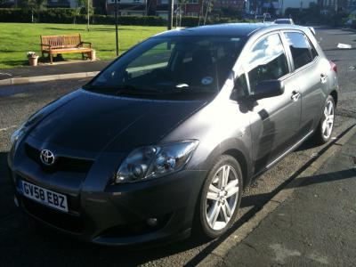 Toyota AURIS SR180 DCAT 2008 (58) Superb unmarked example