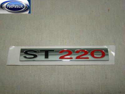 Ford Mondeo MK3 ''ST220'' Tailgate Badge