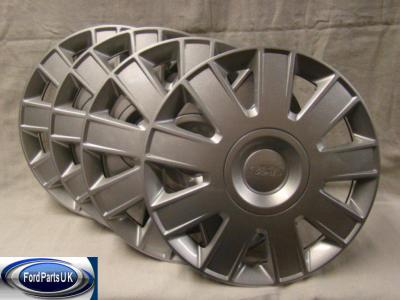 Ford Focus MK2 & Focus C-Max Set Of 15'' Wheel Trim (x4)
