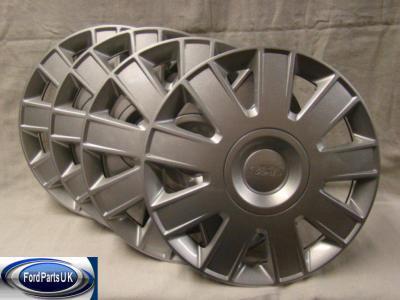 Ford Focus MK2 & Focus C-Max Set Of 15'' Wheel Trim (x4)