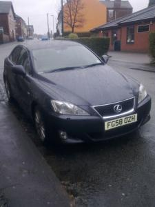 2008 58 Lexus IS220D SE-L