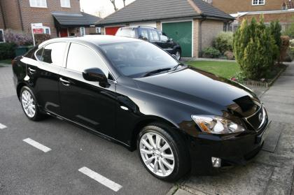 2008 LEXUS IS 220D SE-L BLACK